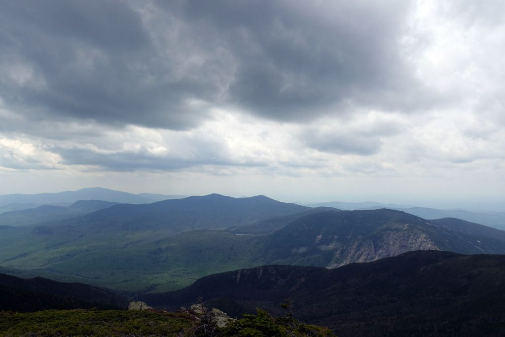 View SW from Franconia Ridge