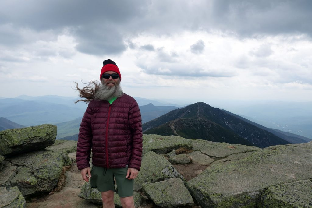 Found this old hiker on the summit.