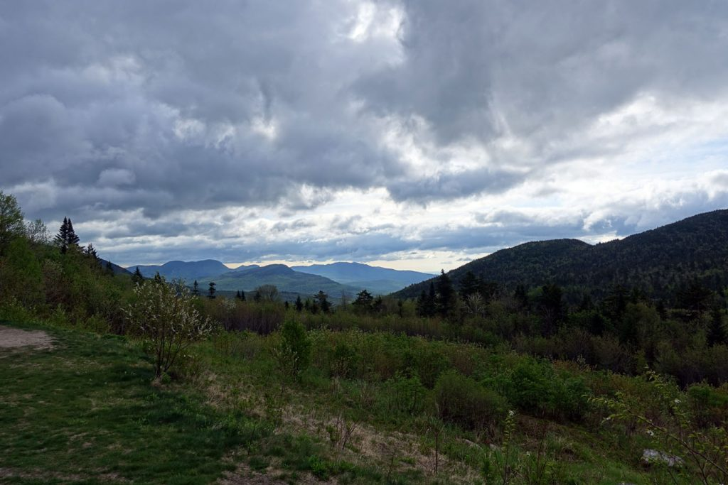 View from the top of Kancamagus Pass