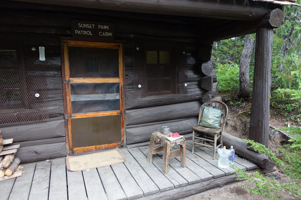 Patrol Cabin at Golden Lakes