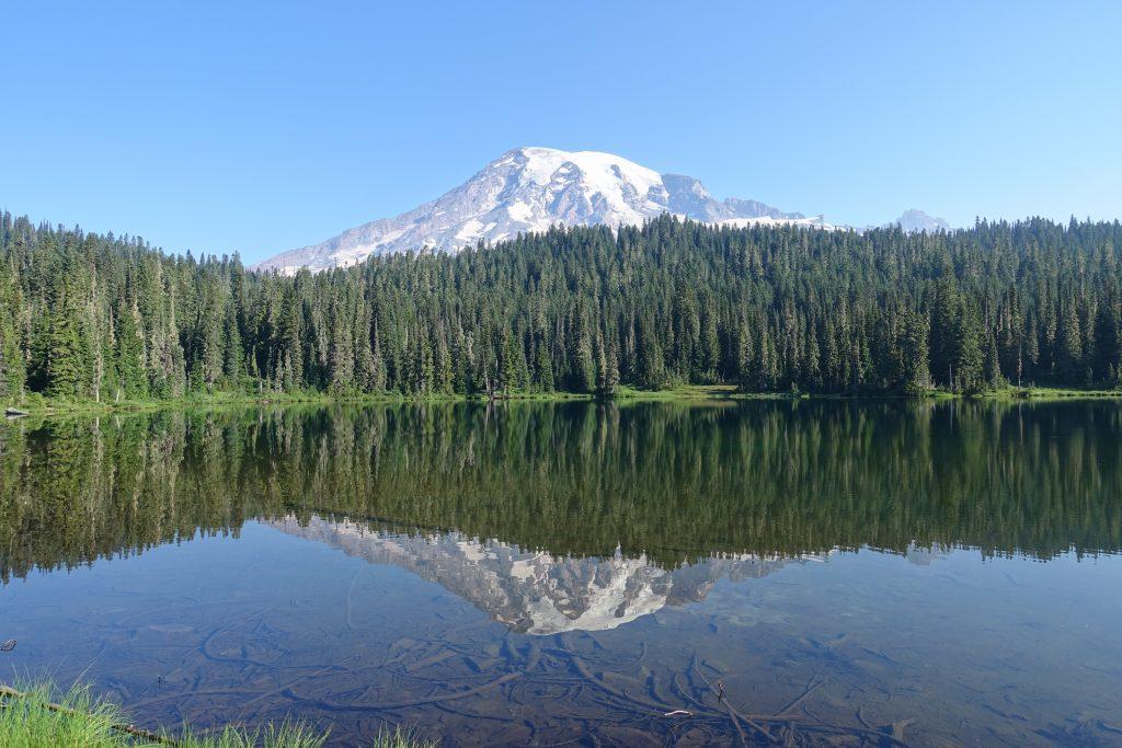 Mt. Rainier at Reflection Lakes